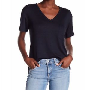 NEW RAG & BONE THEO Navy Blue T Shirt M